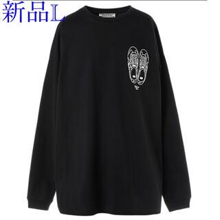 オニツカタイガー 長袖 Tシャツ Lサイズ ブラック