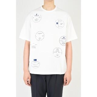 LAD MUSICIAN - Lad musician 21ss プリント ビッグTシャツ 44 WHITE