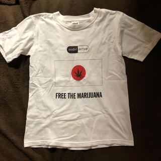 WACKO MARIA - 希少 audio active free the marijuana tシャツ