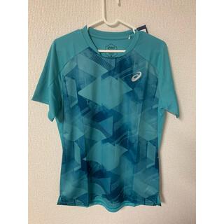 アシックス(asics)の早い者勝ち!新品・未使用・タグ付き アシックス テニスウェア Tシャツ(ウェア)