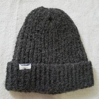 ブリーズ(BREEZE)の新品 BREEZE グレーニット帽子 52cm-54cm(帽子)