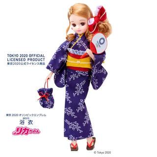 Takara Tomy - JOC公式ライセンス商品 サポーター リカちゃん 東京2020