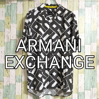アルマーニエクスチェンジ(ARMANI EXCHANGE)のARMANI EXCHANGE アルマーニ 総柄 アロハシャツ  半袖シャツ(Tシャツ/カットソー(半袖/袖なし))