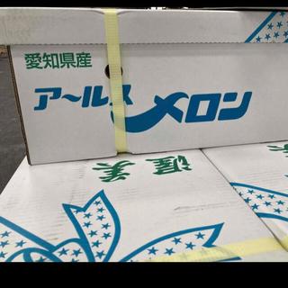 愛知県産 高級アールスメロン 特大3玉入り