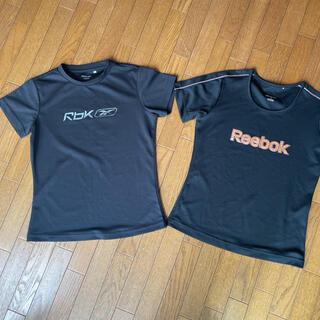 Reebok - リーボック 黒 Tシャツ 2枚