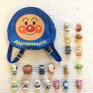 アンパンマン - アンパンマン ミニリュック&指人形