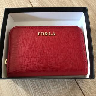 フルラ(Furla)のFURLA カードキーケース 赤(キーケース)