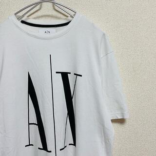 アルマーニエクスチェンジ(ARMANI EXCHANGE)の一点物 A Xアルマーニ エクスチェンジ デカロゴ   Tシャツ(Tシャツ/カットソー(半袖/袖なし))