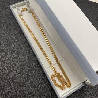 保管品☆K18 喜平 ネックレス 50cm 12面