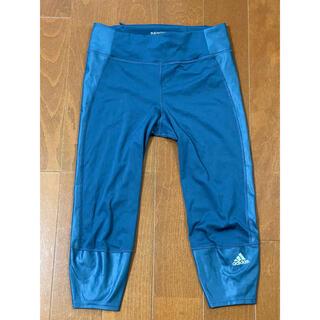 adidas - adidas アディダス トレーニングパンツ S〜M ブルー