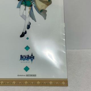 セガ(SEGA)の2)【非売品】原神 ウェンティ 数量限定 チケットファイル(クリアファイル)
