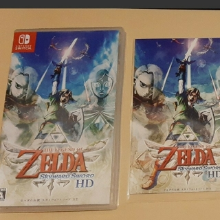 Nintendo Switch - 特典付き ゼルダの伝説 スカイウォードソードHD switch