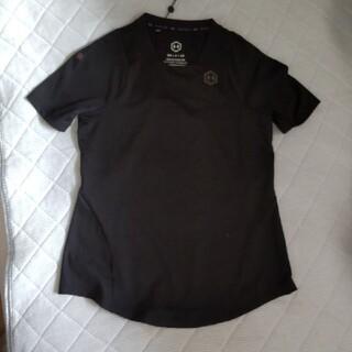 UNDER ARMOUR - アンダーアーマー ラッシュレディースTシャツ 黒 S