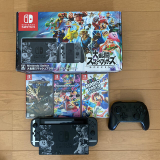Nintendo Switch - Nintendo Switchスマブラセット プロコン付 ソフト数本 即購入可