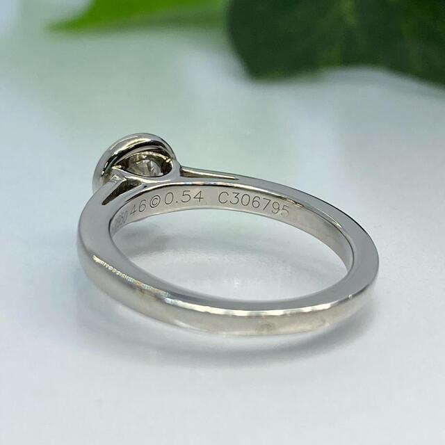 Cartier(カルティエ)の【JC1-5077】カルティエ Pt950 天然ダイヤモンド リング レディースのアクセサリー(リング(指輪))の商品写真