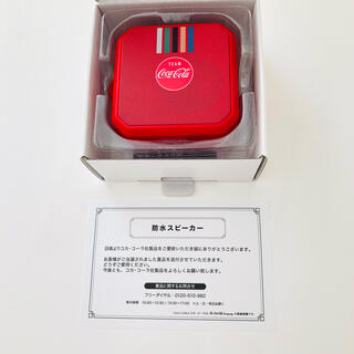 コカコーラ(コカ・コーラ)のコークオン 防水スピーカー(スピーカー)