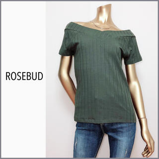 ROSE BUD - ROSE BUD オフショル 半袖 カットソー プルオーバー*ザラ SLY