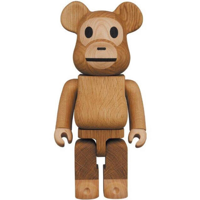 MEDICOM TOY(メディコムトイ)のBE@RBRICK Karimoku BABY MILO 2021 エンタメ/ホビーのおもちゃ/ぬいぐるみ(キャラクターグッズ)の商品写真