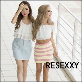 RESEXXY - RESEXXY レディヒッコリー スカート*リップサービス DaTuRa エモダ