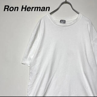 Ron Herman - Ron Herman ロンハーマン  ワンポイント刺繍 Tシャツ ホワイト