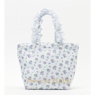 Maison de FLEUR - 新品 完売品 メゾンドフルール フラワーシフォンフリルハンドル トートバッグ