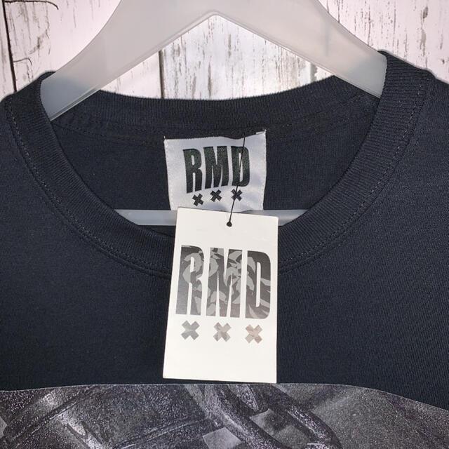RMD バンドヴィジュアル系Tシャツ ビックプリント ダメージ加工 V系 未使用 メンズのトップス(Tシャツ/カットソー(半袖/袖なし))の商品写真