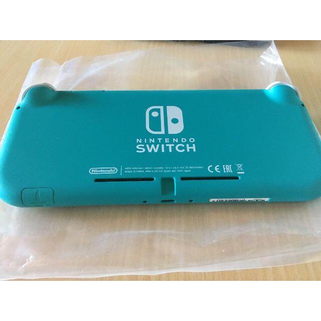 Nintendo Switch(ニンテンドースイッチ)のニンテンドースイッチライト ターコイズ 美品 エンタメ/ホビーのゲームソフト/ゲーム機本体(携帯用ゲーム機本体)の商品写真