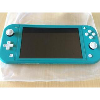 Nintendo Switch - ニンテンドースイッチライト ターコイズ 美品