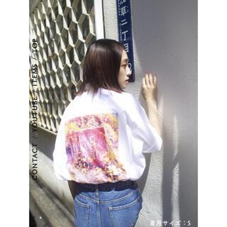 ACNE - 虜 torico wear 虜刺繍ショルダーステッチカットソー