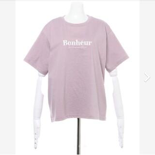 イング(INGNI)のINGNI イング SWEETロゴT ラベンダー 紫(Tシャツ(半袖/袖なし))