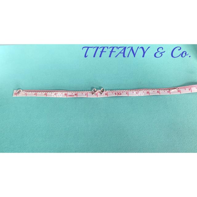 Tiffany & Co.(ティファニー)の美品TIFFANY&Co.ティファニーダブルラッピングハートダイヤブレスレット レディースのアクセサリー(ブレスレット/バングル)の商品写真