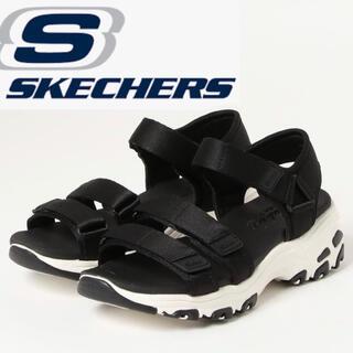 SKECHERS - スケッチャーズ★スニーカーサンダル22.5〜23.5cm BLACK