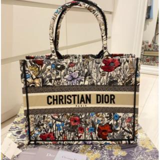 Dior - 早い者勝ち DIOR ブックトート ミレフラワー