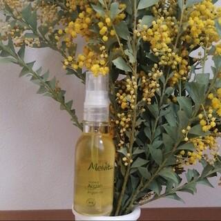 メルヴィータ(Melvita)の美品 メルヴィータ Melvita アルガンオイル ヘアオイル スキンオイル(オイル/美容液)