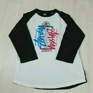 ステューシー(STUSSY)のstussy  ラグランTシャツ(Tシャツ(長袖/七分))