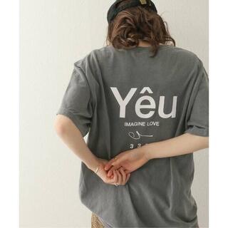ジャーナルスタンダード(JOURNAL STANDARD)の333 Yeu TEE Tシャツ 完売アイテム JOURNAL STANDARD(Tシャツ(半袖/袖なし))