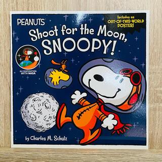 ピーナッツ(PEANUTS)のピーナッツ英語絵本 洋書 Shoot for the Moon,Snoopy!(絵本/児童書)