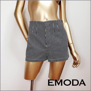 エモダ(EMODA)のEMODA ストライプ ショートパンツ*エゴイスト RESEXXY マウジー(ショートパンツ)