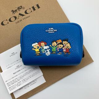 COACH - 【新品】COACH X PEANUTS スヌーピー ミニポーチ