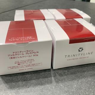 タイショウセイヤク(大正製薬)のトリニティーラインジェルクリームプレミアムN80g4個セット(オールインワン化粧品)
