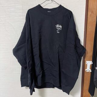 STUSSY - STUSSY NIKE NRG ZR CREW FLEECE ブラック XL