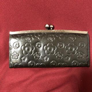 マリークワント(MARY QUANT)のマリクワ がま口長財布(長財布)