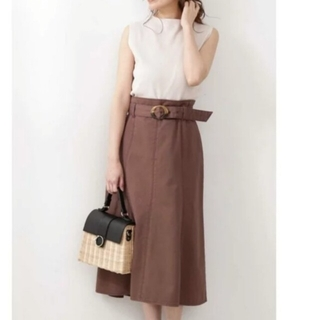 PROPORTION BODY DRESSING - カラーフレアマーメイドスカート