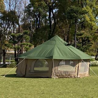 DOPPELGANGER - 即日発送可能!dod タケノコテント2 カーキ タンカラー テント