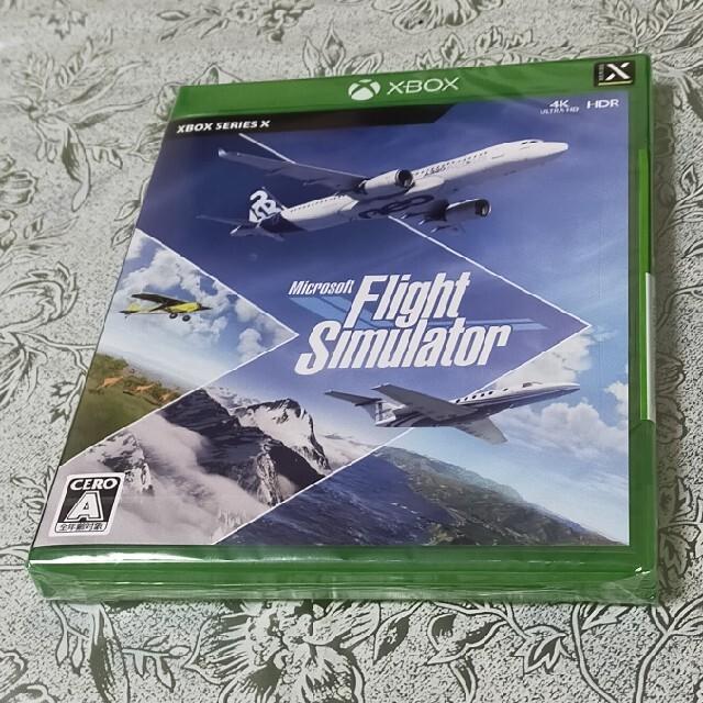 Microsoft Flight Simulator XSX エンタメ/ホビーのゲームソフト/ゲーム機本体(家庭用ゲームソフト)の商品写真