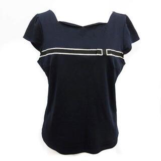 トッカ(TOCCA)のトッカ Tシャツ カットソー 半袖 M ネイビー(カットソー(半袖/袖なし))