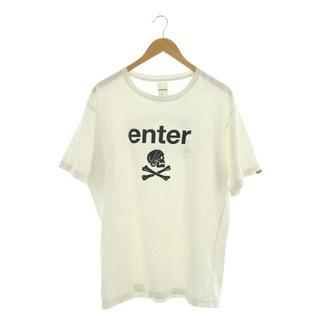 NEIGHBORHOOD - ネイバーフッド Tシャツ カットソー 半袖 スカル ドクロ プリント 4 白