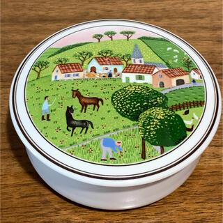 ビレロイ&ボッホ - Villeroy & Bochのフタ付き陶器小物入れ/キャニスター