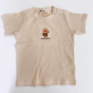 【新品タグ付】アンパンマン ワッフル半袖Tシャツ 100