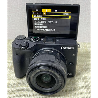Canon - Canon キャノンEOS M3ズームレンズセットWi-Fi搭載